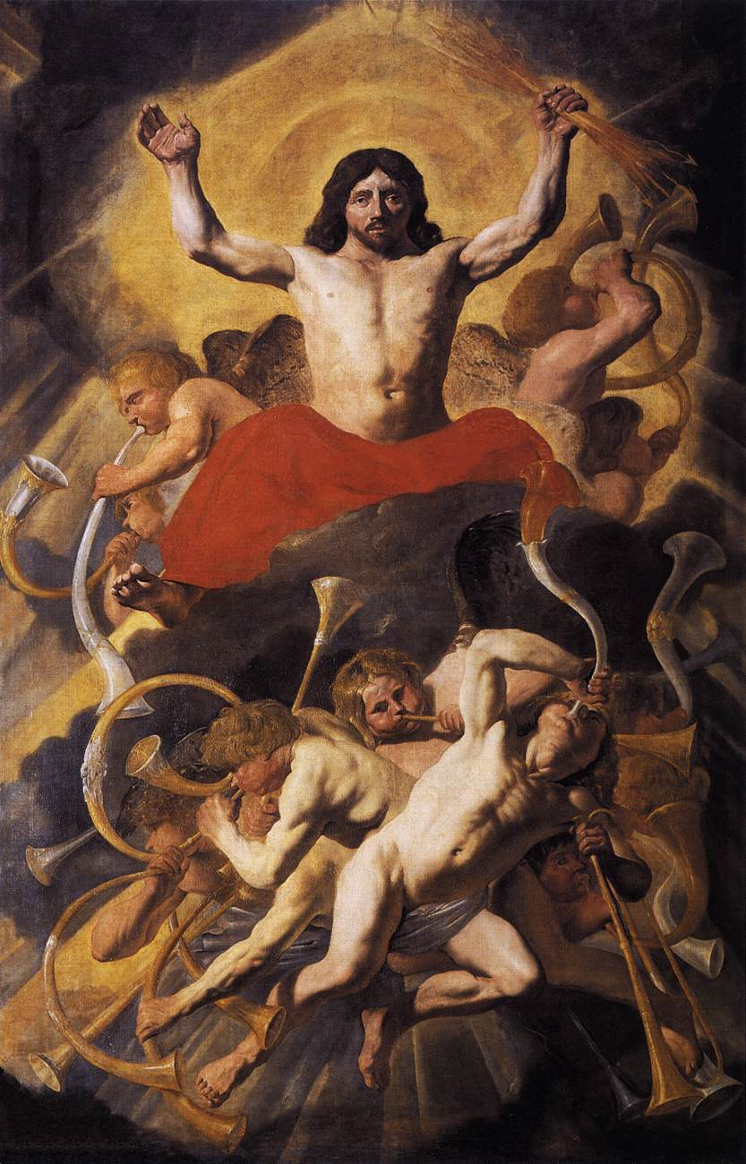The Last Judgment by Jacob van Campen